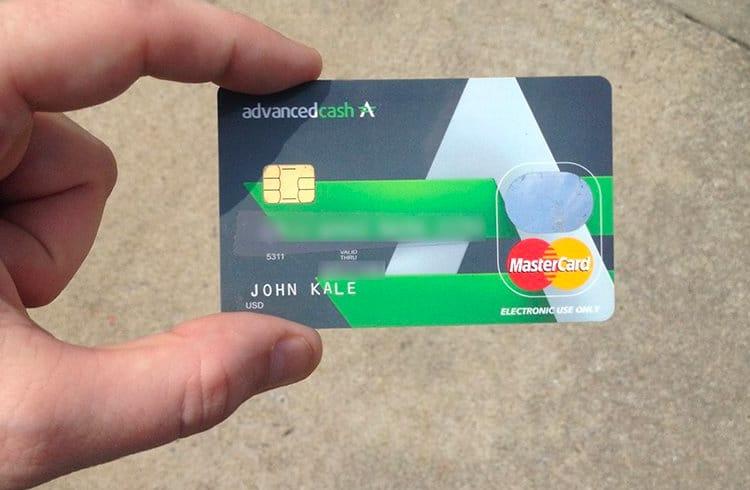 [AdvCash] Usuário perde quase US $ 5k em Bitcoin devido à clonagem de cartão