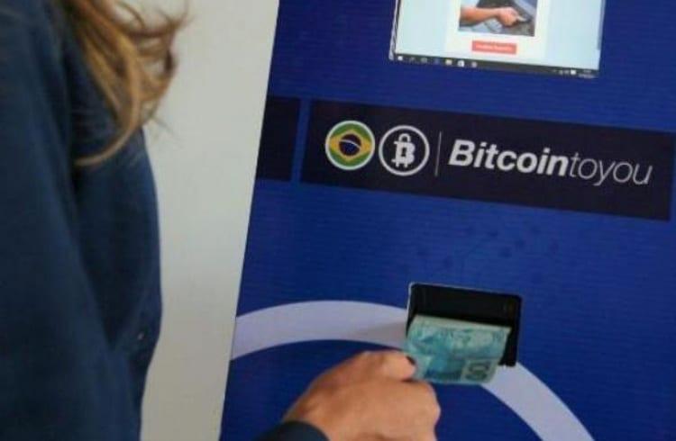 Chega ao Brasil primeiro caixa eletrônico de Bitcoin