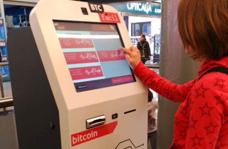 Caixa eletrônico de Bitcoin poderá incentivar comerciantes e usuários