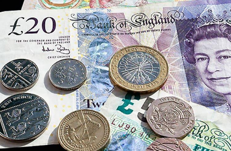Libra britânica mais volátil do que o Bitcoin