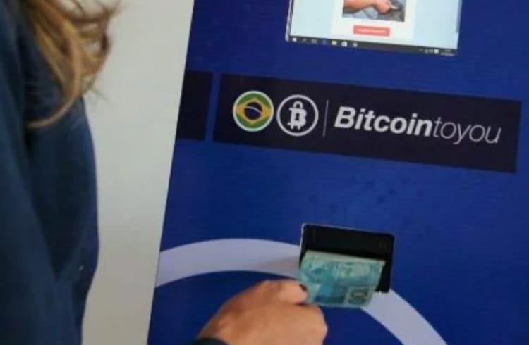 Primeiro caixa eletrônico 100% Brasileiro - BitcoinToYou