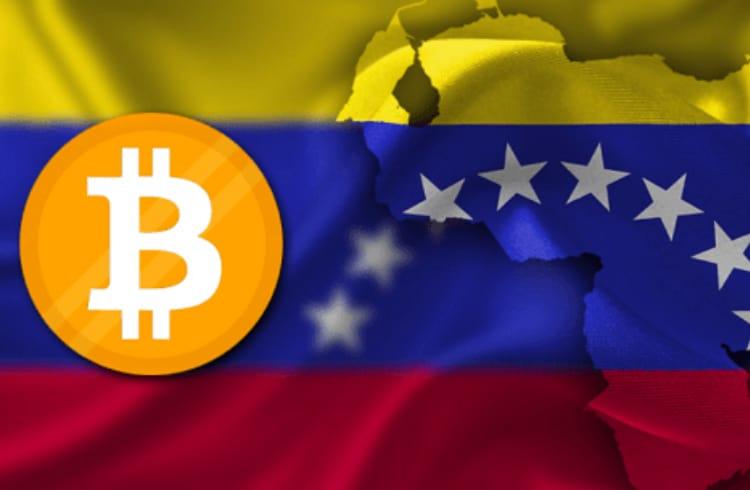 Venezuela, o país sul-americano teve um aumento de 30% no volume e no preço do Bitcoin.