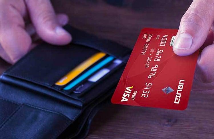 Cartão de Débito Uquid Visa Aceita Mais de 40 Altcoins