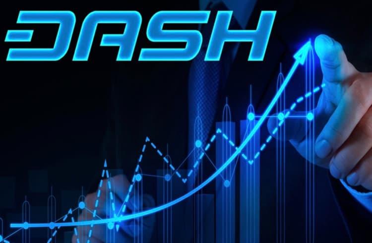 Dash dispara de 8 para 20 dólares - Motivos?