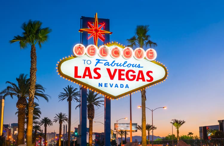 Vai para Vegas? Use seus Bitcoins!