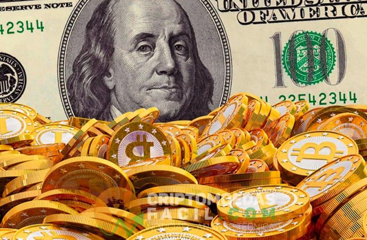 Bitcoin está superando moedas fiat