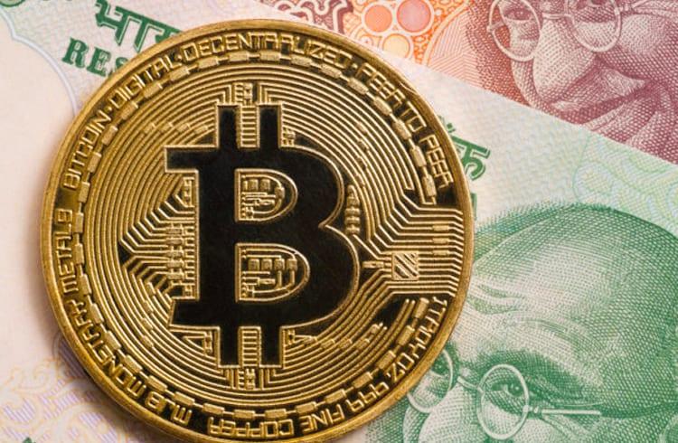 Índia atinge 10% do comércio mundial de Bitcoin / Dólar