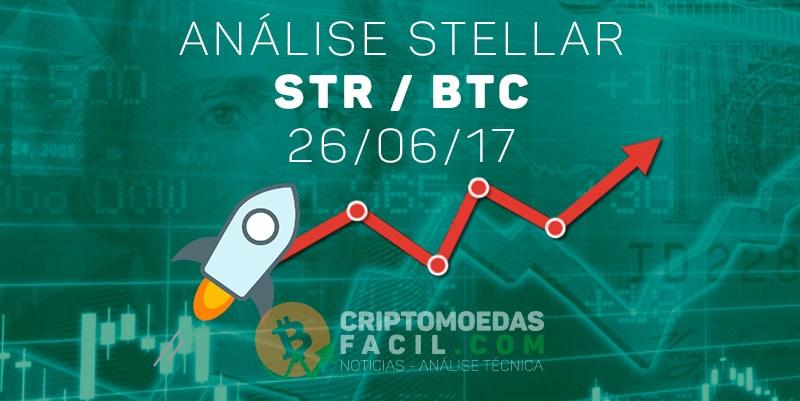 Análise Stellar [STR/BTC] - 26/06/2017