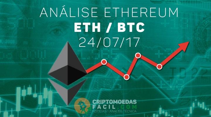 Análise Ethereum [ETH/BTC] - 24/07/2017
