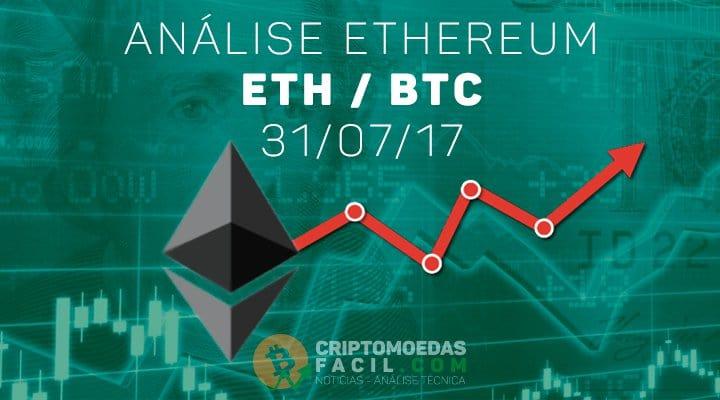 Análise Ethereum [ETH/BTC] - 31/07/2017