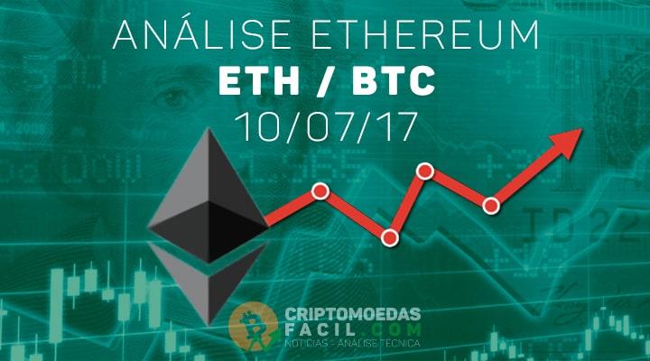 Análise Ethereum [ETH/BTC] - 10/07/2017