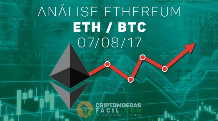Análise Ethereum [ETH/BTC] - 07/08/2017