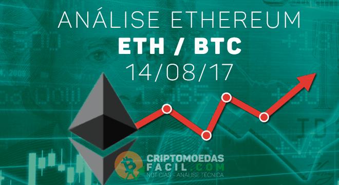Análise Ethereum [ETH/BTC] - 14/08/2017