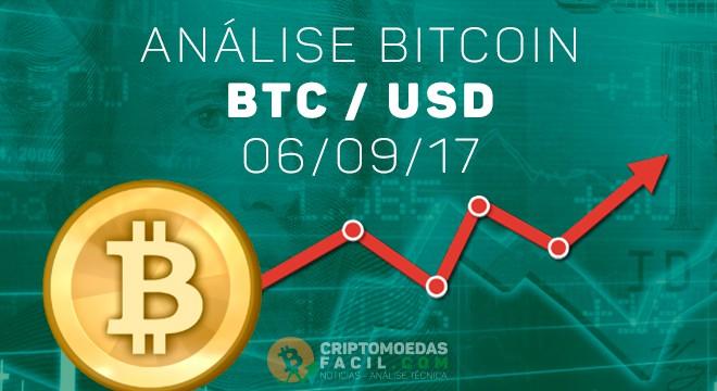 Analise Bitcoin - 06/09/17