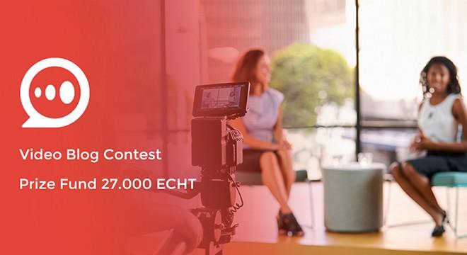 e-Chat apresenta sua função Cryptolike para avaliar concorrentes em concurso de vídeo