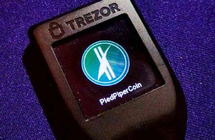 Carteira Trezor anuncia suporte para a inexistente PiedPiperCoin