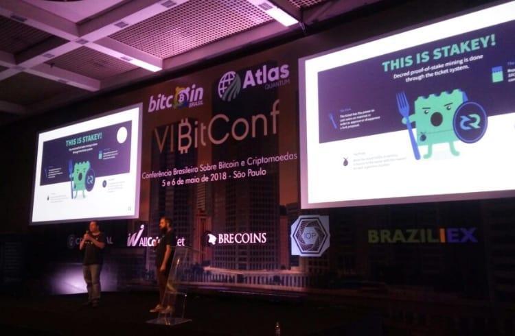Time brasileiro da deCRED participa da sexta edição da BitConf em São Paulo