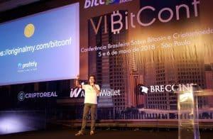 OriginalMy fala sobre ICOs e tokens em sua palestra durante a BitConf 2018