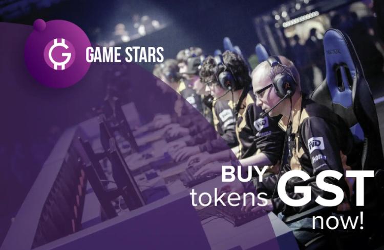 Pré venda dos tokens da Game Stars é um sucesso
