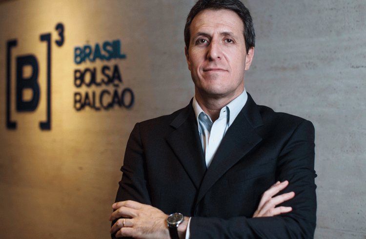 Blockchain veio para ficar, afirma presidente da Bolsa de Valores do Brasil