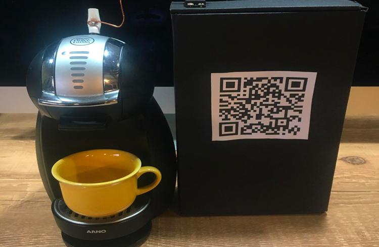 Brasileiro cria máquina de café movida a Bitcoin