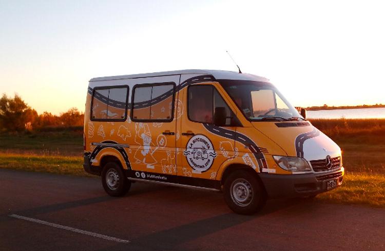 Conheça a Bitcoineta: uma van que percorrerá a América Latina evangelizando a população sobre criptomoedas