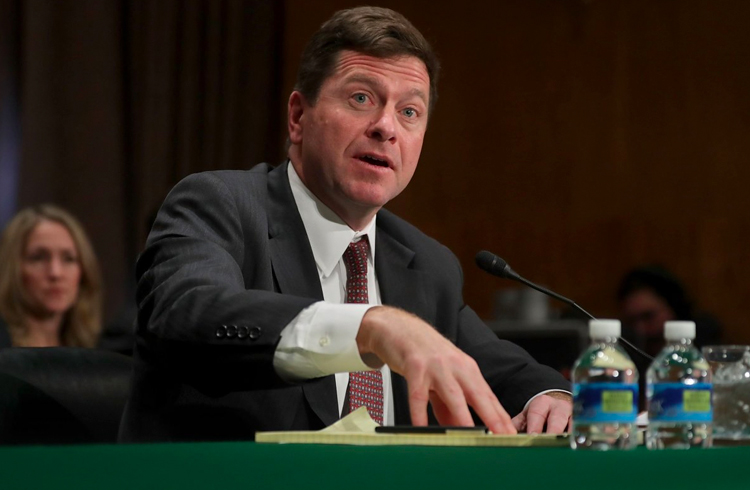 Presidente da SEC diz que tokens não são isentos de regulamentação