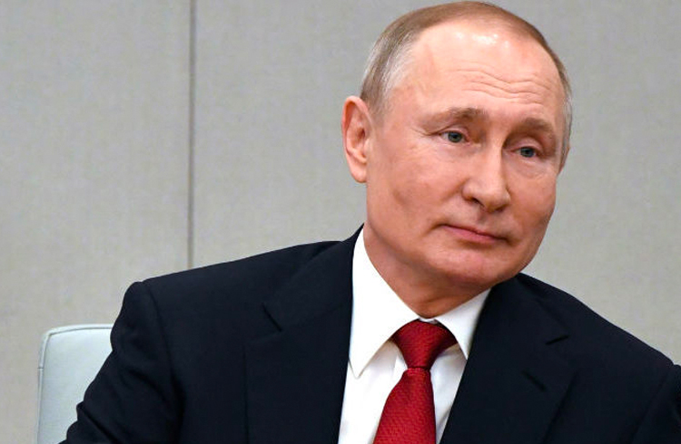 Putin diz que países não podem ter suas criptomoedas pois a natureza delas é descentralizada