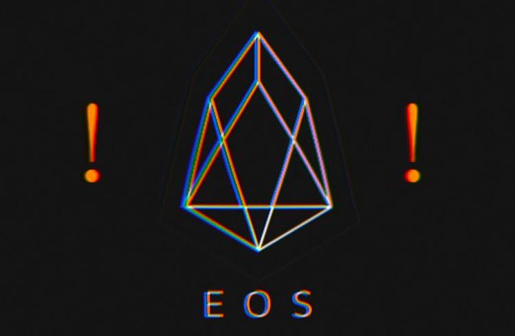 URGENTE! Erro de software faz blockchain da EOS paralisar transações
