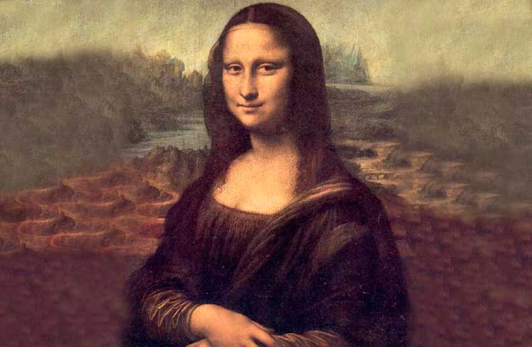 Desenvolvedor nomeia-se o verdadeiro autor da Monalisa de Leonardo da Vinci na blockchain