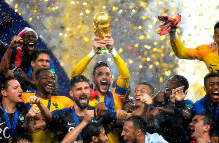 KIRIK oferece prémios de apostas para a Copa do Mundo de Futebol 2018