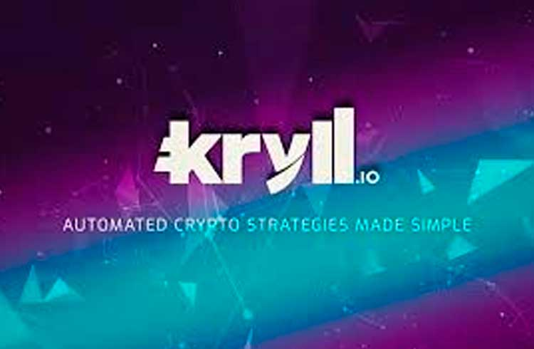 Kryll.io plataforma de estratégias de negociação de criptomoedas automatizada é listada na QRYPTOS