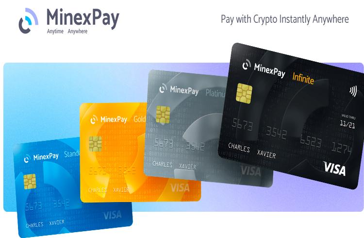 MinexPay: pague com criptomoedas instantaneamente em qualquer lugar! A maneira mais fácil e rápida de fazer compras diárias