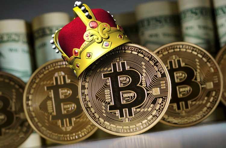 A dominância do Bitcoin aumenta em meio à tendência de baixa das criptomoedas