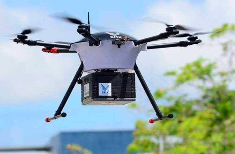 Drones em blockchain: viajando até onde as estradas não alcançam