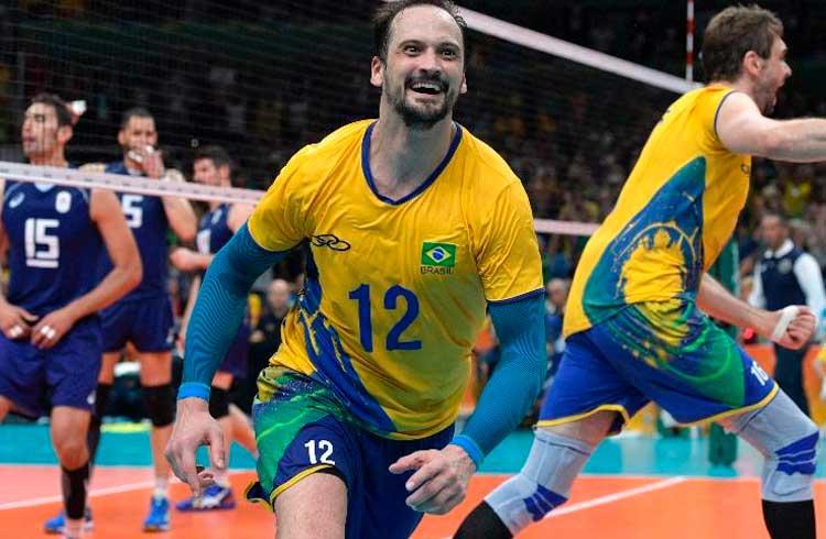 Estrela do vôlei brasileiro campeão olímpico lança criptomoeda focada no esporte amador