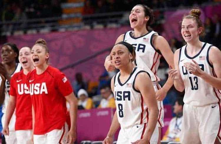 Jogadoras da liga de basquete feminino dos Estados Unidos poderão acumular criptomoedas