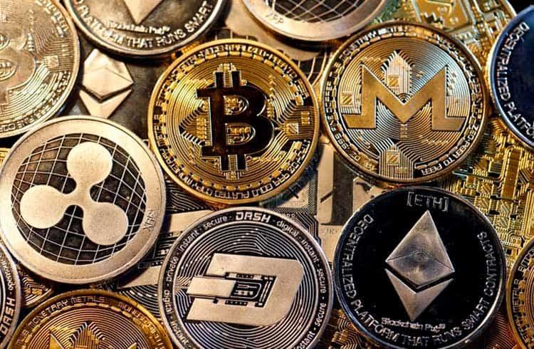 Top 100 criptomoedas do mercado registram perdas nas últimas 24 horas