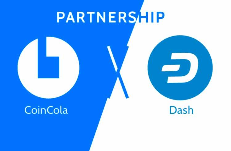 CoinCola anuncia parceria com Dash em seu lançamento na Venezuela