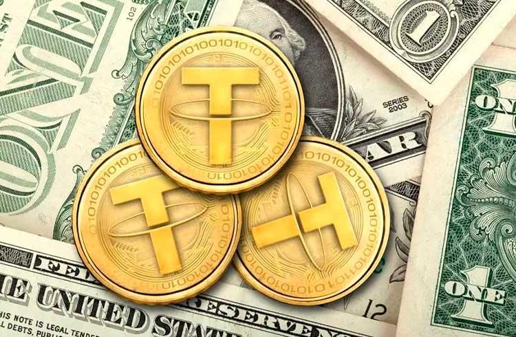 Preço do Tether registra a maior baixa dos últimos 18 meses