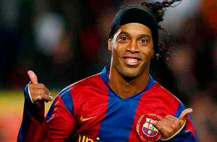 Ronaldinho Gaúcho lança nova criptomoeda em parceria com Usain Bolt