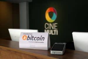 Cinemulti é o primeiro cinema do Brasil a aceitar pagamentos com Bitcoin