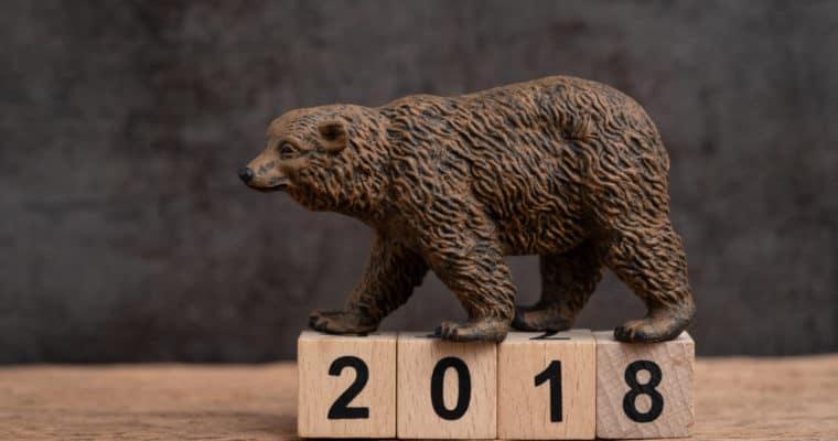 2018 é um ano difícil tanto para o mercado de criptoativos como para o mercado de ações