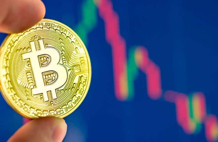 Preço do Bitcoin atinge nova baixa anual