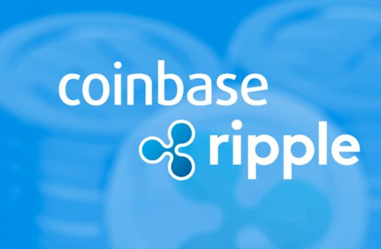 Coinbase anuncia suporte a token XRP da Ripple em sua plataforma