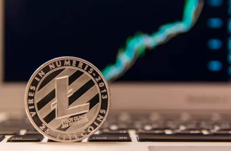 Litecoin quebra resistência de US$50 ao valorizar mais 6% nas últimas 24 horas