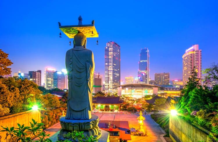 Seul investirá mais de US$1 bilhão em fintech e startups de blockchain até 2022