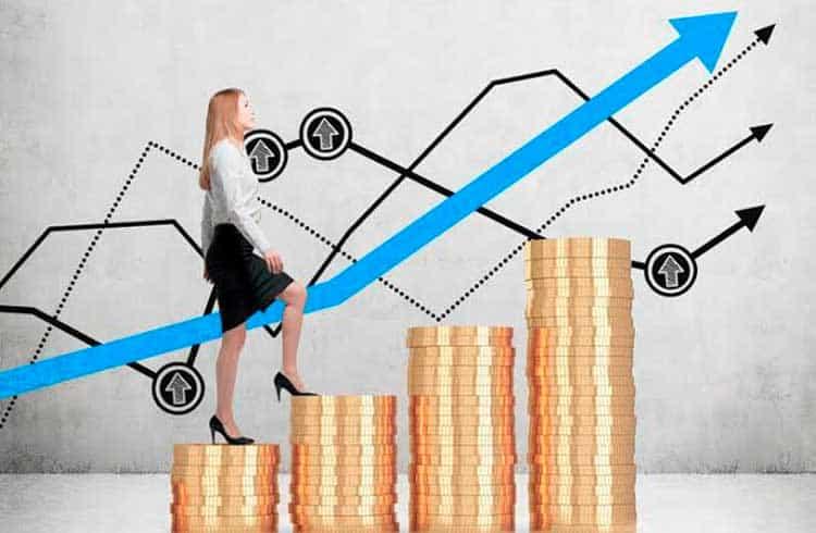 Correlações de preços entre principais criptomoedas aumentam em relação ao dólar