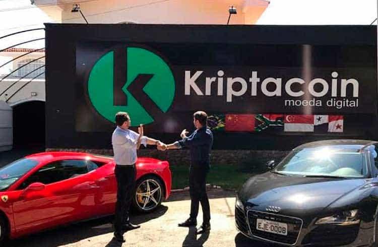 Ferrari, Lamborghini, Porshe e carros populares da Kriptacoin vão a leilão