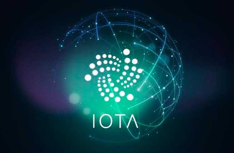 IOTA valoriza 13% no dia após integração com Zeux